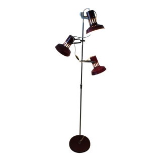 60's Italian Adjustible Floor Lamp For Sale