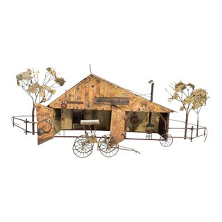 1960s Curtis Jere Blacksmith Wall Art For Sale