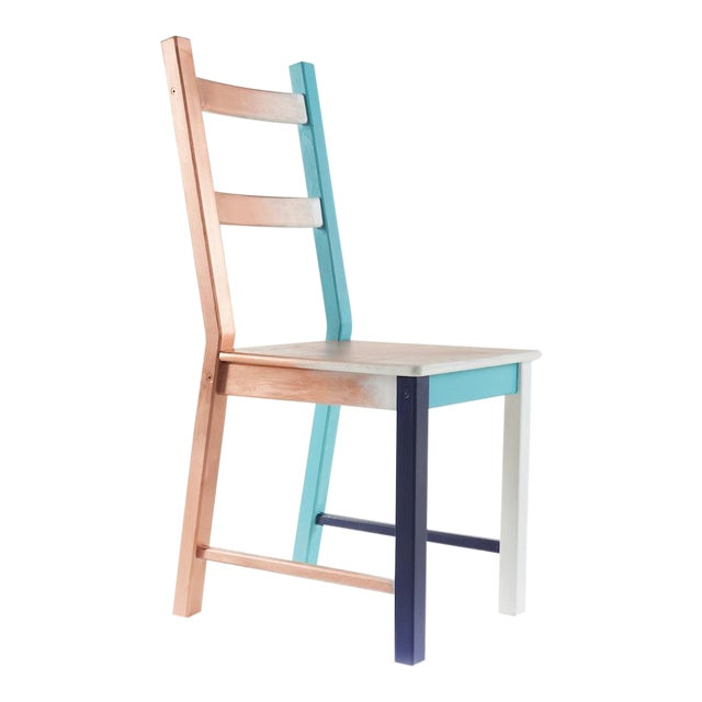 Misplaced, Hand-Painted Chair by Atelier Miru For Sale