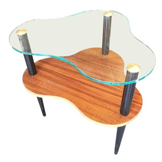 Modernage Two-Tier Mid-Century Cloud Coffee Table For Sale