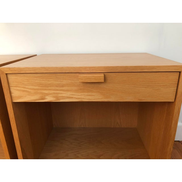 Tan 1970s Scandinavian Modern Charles Webb Nightstands - a Pair For Sale - Image 8 of 13