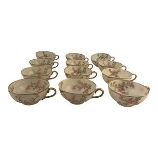 Haviland Limoges Cups - Set of 12