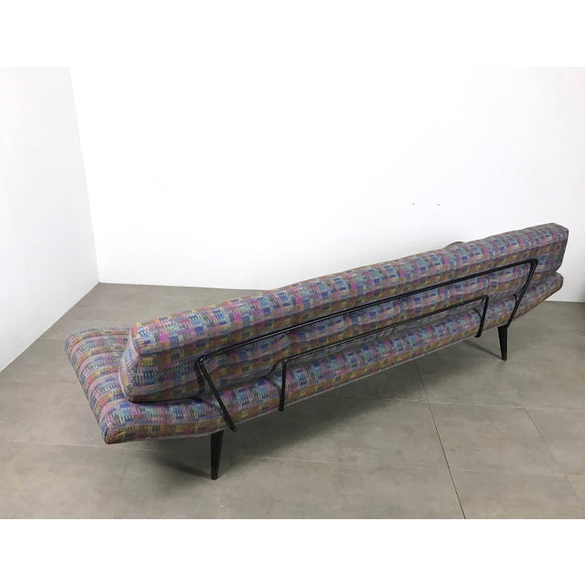 Adrian Pearsall Iron Gondola Daybed - Image 2 of 11