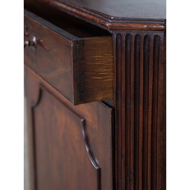 George III Antique English Mahogany Cabinet circa 1780 For Sale In Houston - Image 6 of 10