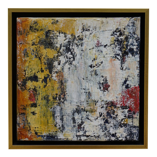 "Laurie MacMillan ""Wall Wabi Sabi"" Abstract Painting For Sale"