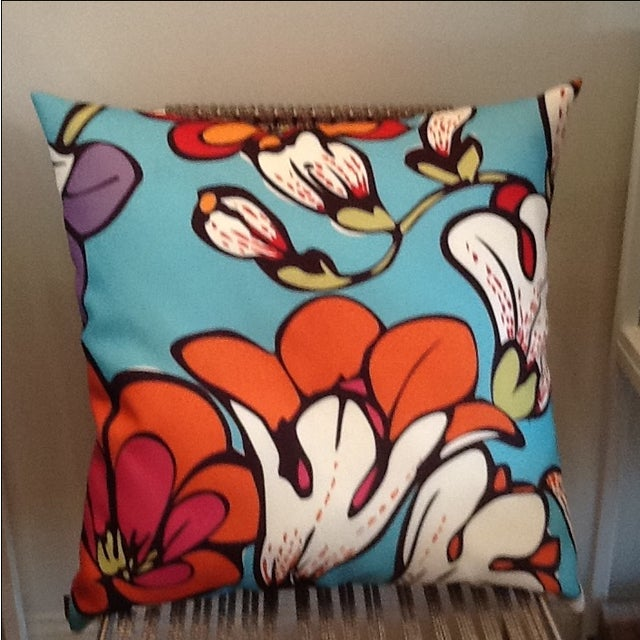 Missoni Home Outdoor Pillow - Image 4 of 5
