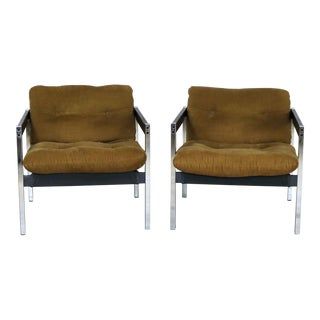 Landes Manufacturing Sling Lounge Chairs 683 from Encino Collection by Jerry Johnson - a Pair