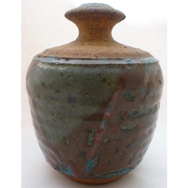 Ceramic Lyman California Studio Pottery Vase For Sale - Image 7 of 11