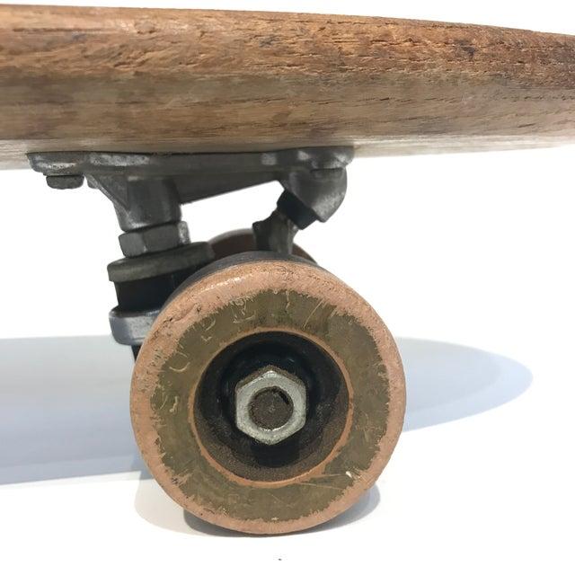 Vintage 1970's Wooden Skateboard - Image 6 of 6