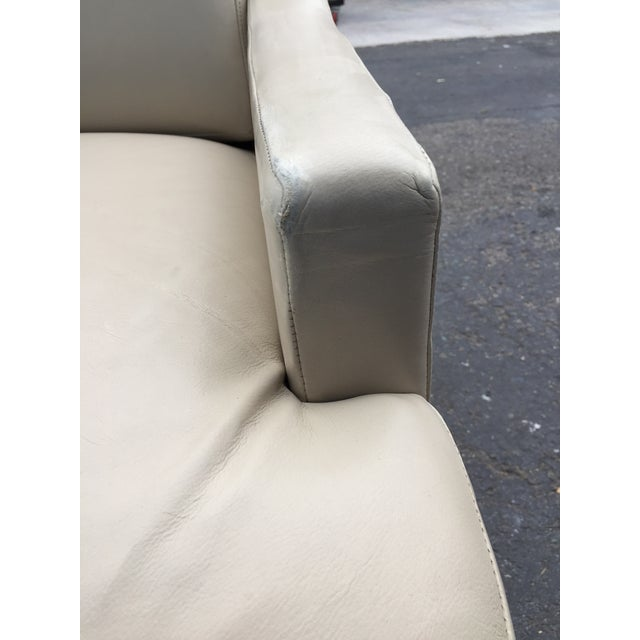 Contemporary Barbara Barry & HBF Scoop Lounge Chair & Ottoman - a Pair For Sale - Image 9 of 11