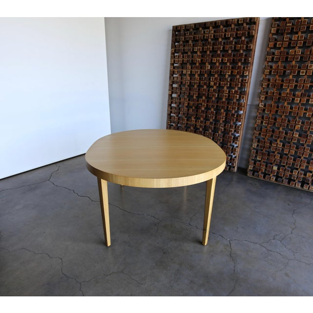 Wood Edward Wormley Dining Table for Dunbar Circa 1950 For Sale - Image 7 of 13