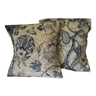 Custom Made Decorative Pillow Cases - A Pair For Sale