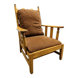 1970s Vintage L. & J. G. Stickley Cherry Valley Armchair For Sale