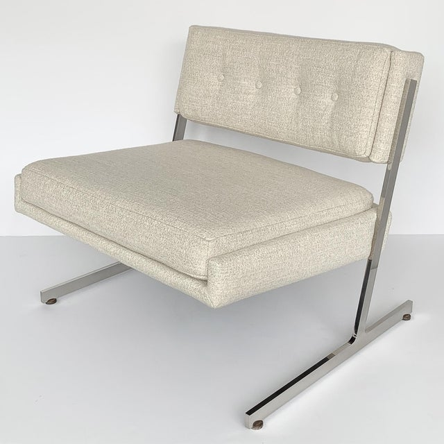 Pair of Harvey Probber Cantilever Slipper Lounge Chairs For Sale In Chicago - Image 6 of 13