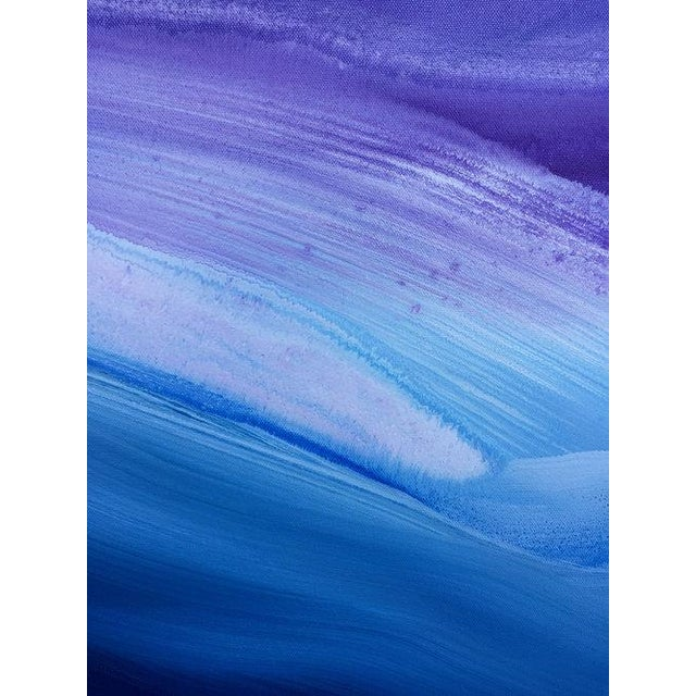 2010s Teodora Guererra, 'Lavender Sky' Painting, 2017 For Sale - Image 5 of 7