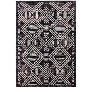 Hand-Knotted Wool Rug - 4′3″ × 6′2″ For Sale