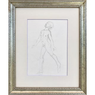 Figurative Nude Drawing of by Ericsson For Sale