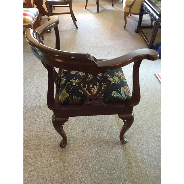 Vintage Ethan Allen Corner Chair - Image 3 of 5