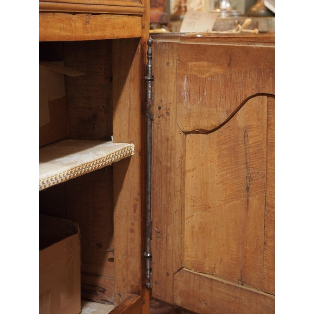 18th Century French Cherry Wood Buffet For Sale - Image 9 of 11