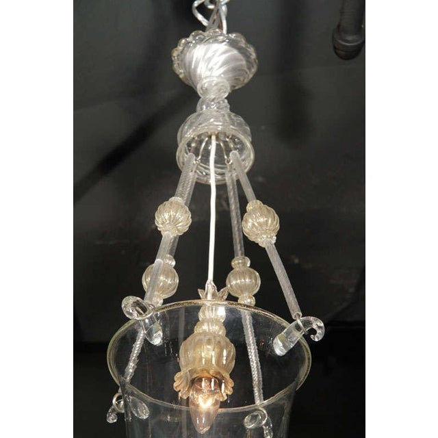 Murano Glass Lantern For Sale In New York - Image 6 of 10