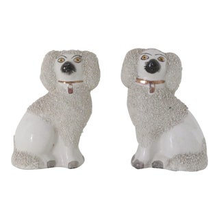 Staffordshire Seated Dogs - Pair