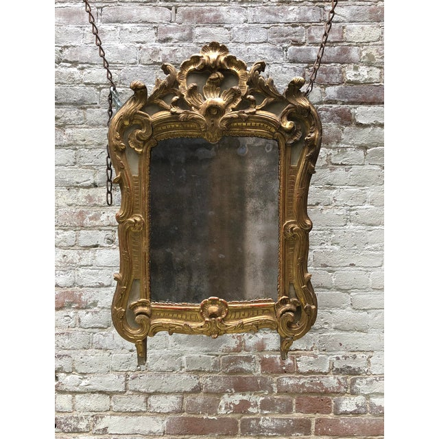 18th Century, Louis XV Mirror For Sale - Image 9 of 10