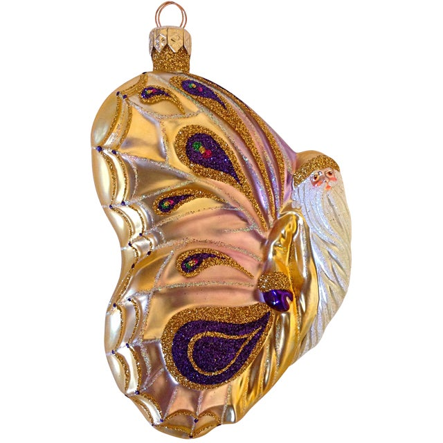 Patricia Breen Papillion Noel Ornament - Image 1 of 4