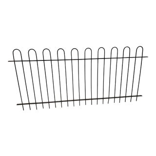 Antique Wrought Iron Hairpin Fencing For Sale