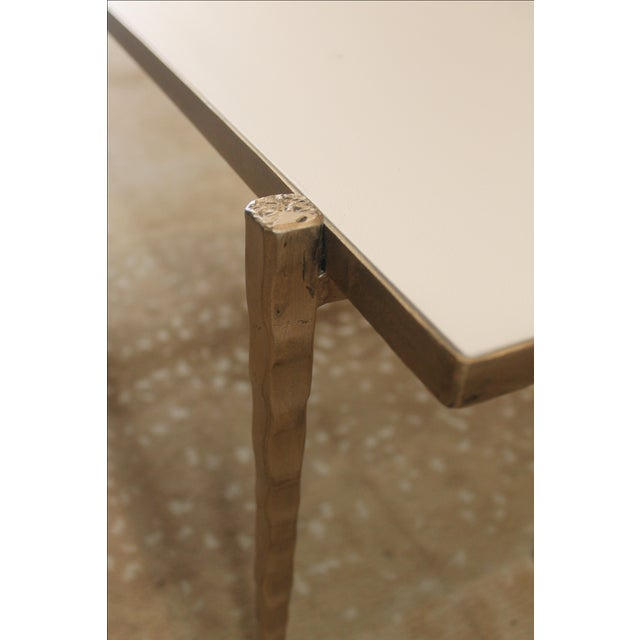 Handmade Steel Pillow Bench - Image 7 of 7