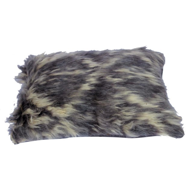 Embellish your home with this timeless casual chic handmade Moroccan throw pillow covers made with wool and cotton.