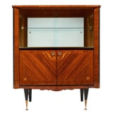 Image of French Mid-Century Vintage Cabinet/Bar For Sale