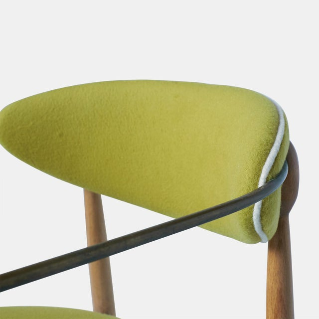 Metal Dan Johnson Set of Six Viscount Chairs For Sale - Image 7 of 8