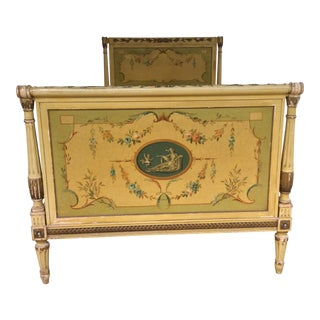 French Inspired Twin Bedframe For Sale