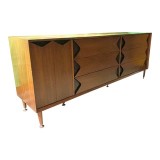 Mid 20th Century Walnut Dresser by Marc Berge for Grosfeld House For Sale
