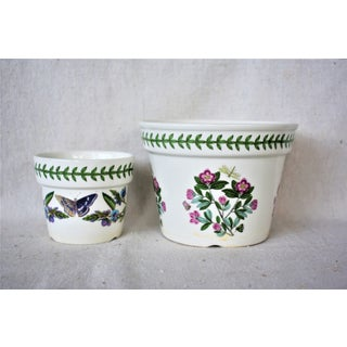 1980s Cottage Portmeirion Flower Pots - Set of 2 Preview