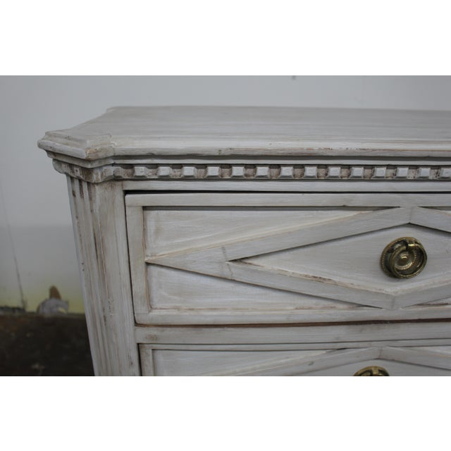 20th Century Vintage Swedish Gustavian Style Nightstands - a Pair For Sale In Atlanta - Image 6 of 10
