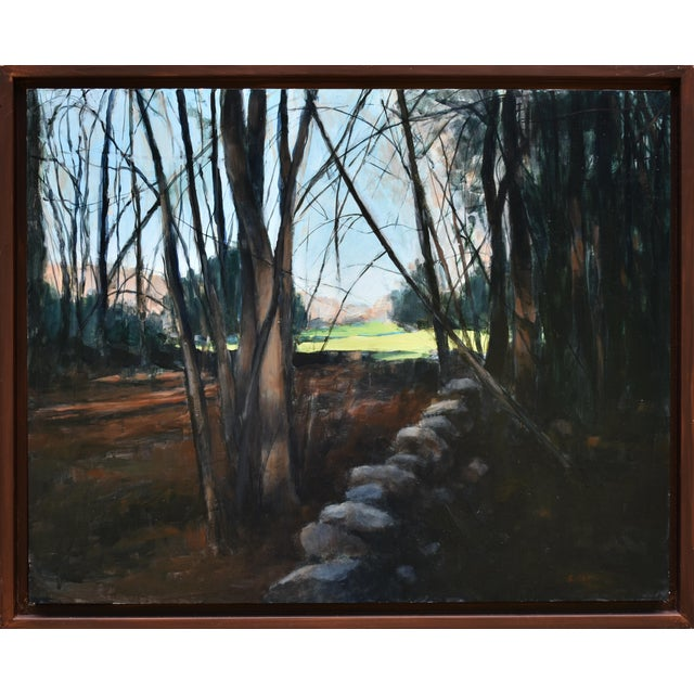 """Stephen Remick """"Spring Fields"""" Contemporary Painting For Sale"""