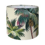 Image of Tropical Custom Drum Lamp Shade For Sale