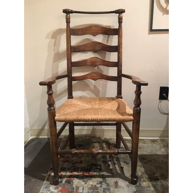 Modern Fauld Rush Chair For Sale - Image 13 of 13