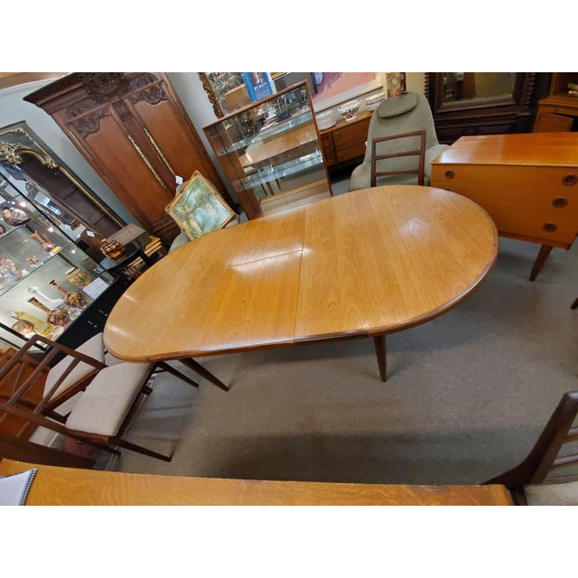 Mid Century Modern G Plan Dining Table For Sale In Houston - Image 6 of 10