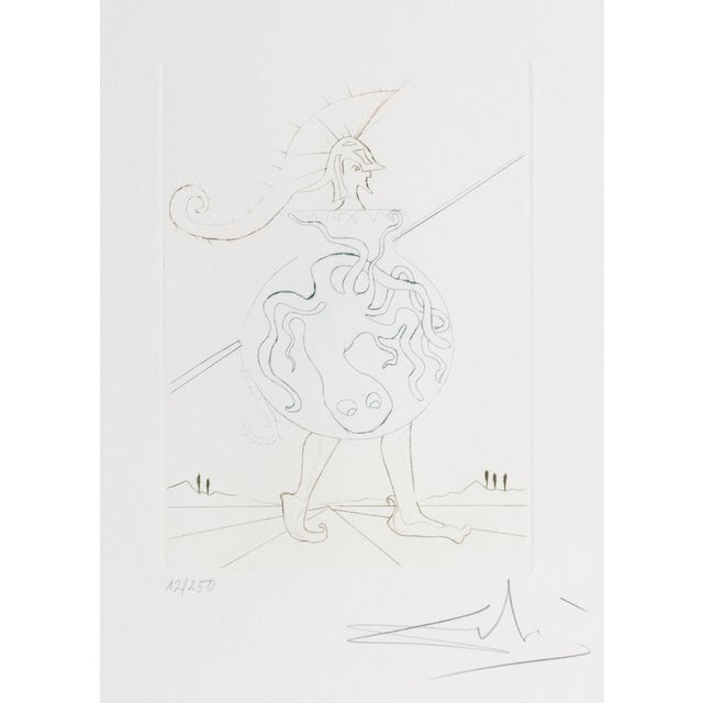 Salvador Dali, Henry V, Figurative Etching For Sale