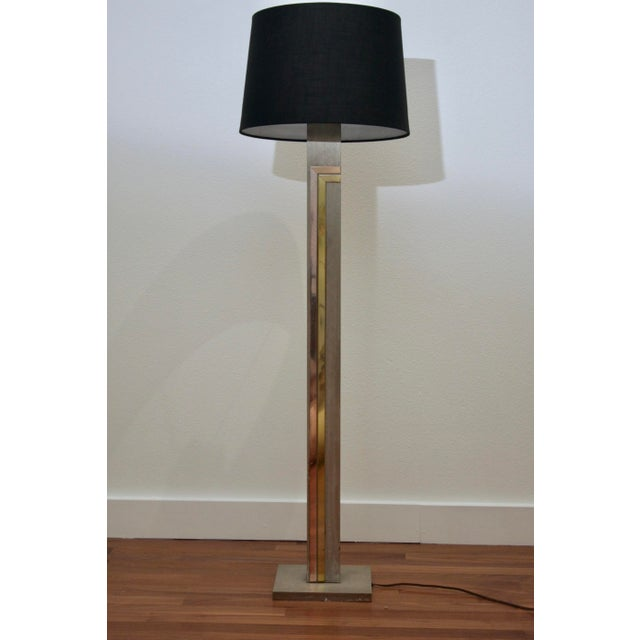 Laurel Lamp Company 1970's Pierre Cardin for Laurel Floor Brass & Copper Accents Lamp For Sale - Image 4 of 10