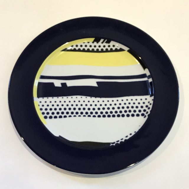 Ceramic Roy Lichtenstein for Rosenthal Porcelain Limited Edition Wall Plate For Sale - Image 7 of 7