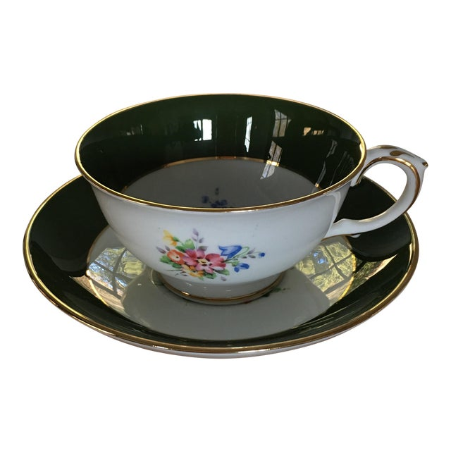Crown Staffordshire Tea Cup For Sale