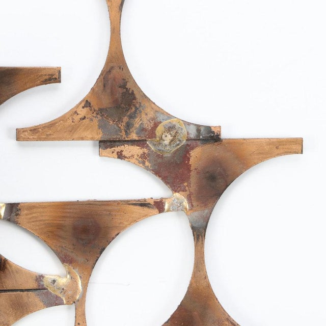 Modern Wall Sconce Sculpture by Mark Weinstein For Sale In New York - Image 6 of 12