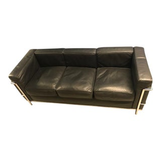 Le Corbusier Petit Confort Three Seater Sofa For Sale