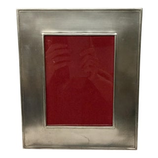 Match Italy Pewter Photo Frame For Sale