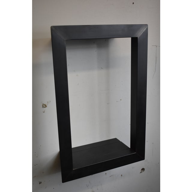 Blackened Steel Wall Frame For Sale - Image 4 of 4