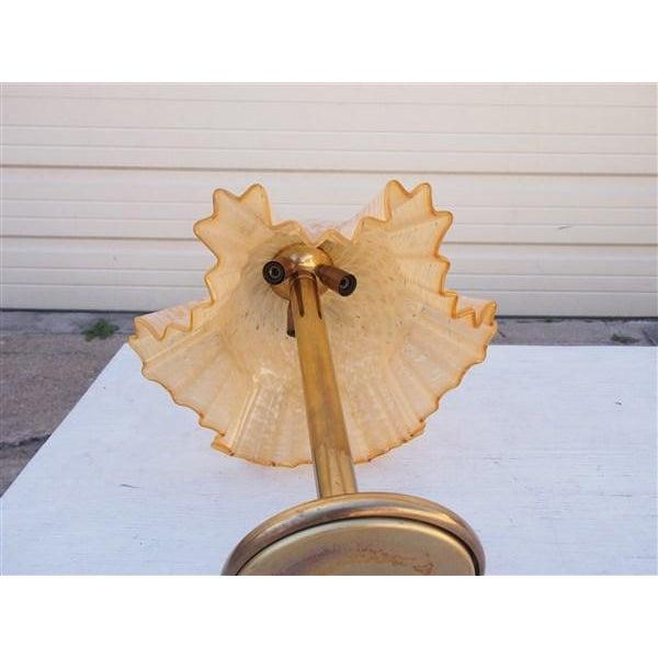 Murano Glass Handkerchief Lamp - Image 4 of 4