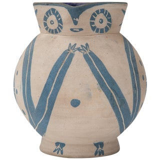 "Pablo Picasso, Madoura Ceramic Pitcher, ""Petite Chouette"", 1949, France For Sale"